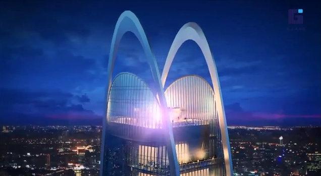 Land Flies High The Super Tower World Mega Project Terra Thailand Blog